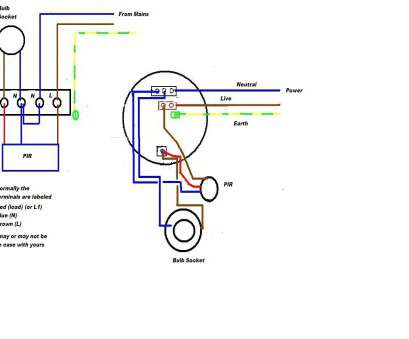 how to wire a light pir Wiring Diagram, Pir Sensor Wiring Diagrams Wiring Motion Detector Light Light Sensor Wiring 10 Professional How To Wire A Light Pir Solutions