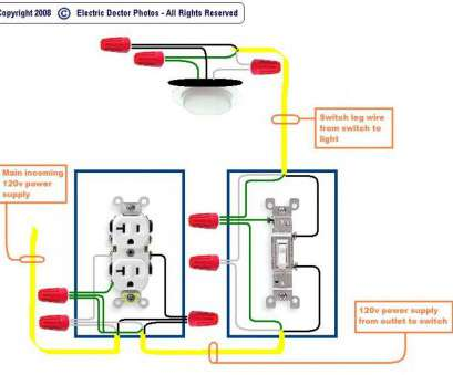 how to wire a light plug and switch Outlet Wiring Diagram Elegant To Switch Light,, fonar.me How To Wire A Light Plug, Switch Brilliant Outlet Wiring Diagram Elegant To Switch Light,, Fonar.Me Images