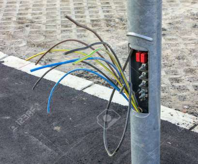 how to wire a light pole Copper wires in street light pole, small plate missing. By pulling up three or How To Wire A Light Pole Fantastic Copper Wires In Street Light Pole, Small Plate Missing. By Pulling Up Three Or Pictures