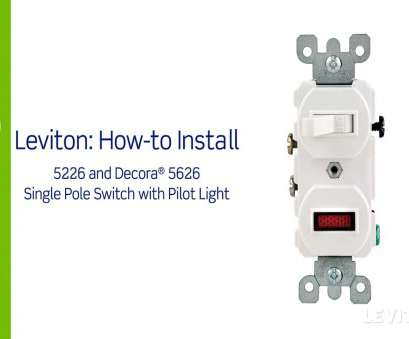 how to wire a light pole Leviton Presents:, to Install a Combination Device with a Pilot Light, Single Pole Switch How To Wire A Light Pole Brilliant Leviton Presents:, To Install A Combination Device With A Pilot Light, Single Pole Switch Images