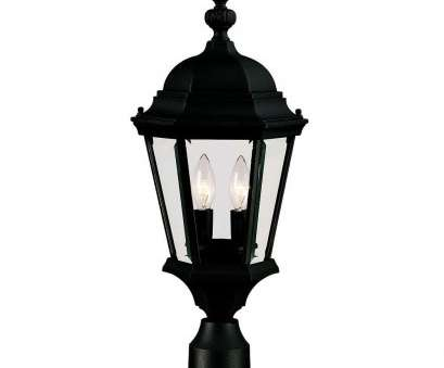 how to wire a light post Illumine 2-Light Outdoor Textured Black Post Mount Lantern How To Wire A Light Post Nice Illumine 2-Light Outdoor Textured Black Post Mount Lantern Ideas