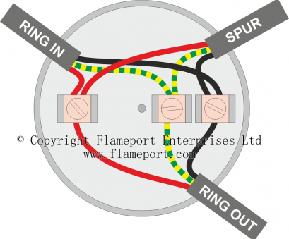 how to wire a light ring circuit ..., junction, used to connect a spur,, colours How To Wire A Light Ring Circuit Perfect ..., Junction, Used To Connect A Spur,, Colours Galleries