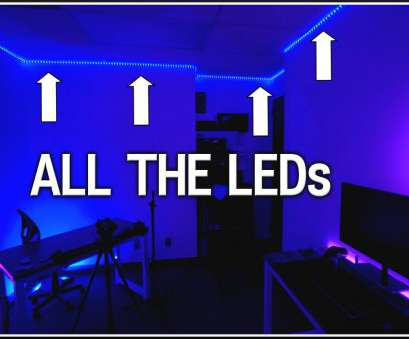 how to wire a light room How To Install WHOLE Room, LEDs! How To Wire A Light Room Simple How To Install WHOLE Room, LEDs! Ideas
