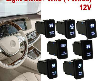 how to wire a led light bar switch 12V, 4 Wiring Blue, Light, Switch Push Button Switch On/Off, Toyota/Landcruiser/Hilux/Prado-in, Switches & Relays from Automobiles How To Wire A, Light, Switch Most 12V, 4 Wiring Blue, Light, Switch Push Button Switch On/Off, Toyota/Landcruiser/Hilux/Prado-In, Switches & Relays From Automobiles Ideas