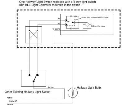 how to wire a new light switch from an existing switch Below is, wiring, retro-fitting a hallway light switch with, Remote Control. (A, version is here) How To Wire A, Light Switch From An Existing Switch Professional Below Is, Wiring, Retro-Fitting A Hallway Light Switch With, Remote Control. (A, Version Is Here) Images