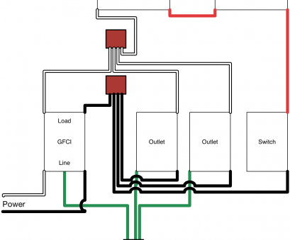 how to wire a light switch and gfci outlet in same box ..., to wire an attic electrical outlet, light junction, wiring 5 Wire Electrical Outlet How To Wire A Light Switch, Gfci Outlet In Same Box Professional ..., To Wire An Attic Electrical Outlet, Light Junction, Wiring 5 Wire Electrical Outlet Galleries