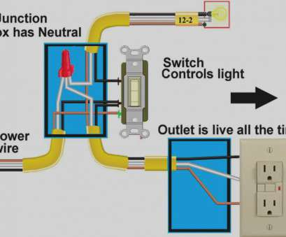 how to wire a light switch to a breaker box collection, to wire a switched outlet diagram wiring light switch rh techrush me wiring light 12 Nice How To Wire A Light Switch To A Breaker Box Pictures