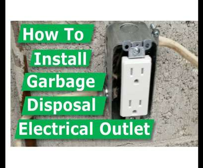 how to wire a light switch to a garbage disposal How To Install Garbage Disposal Electrical Outlet Box How To Wire A Light Switch To A Garbage Disposal Best How To Install Garbage Disposal Electrical Outlet Box Pictures
