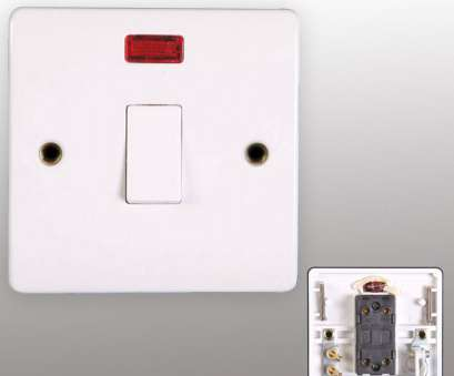 how to wire a light switch to a wall outlet White Finish Electric Light Switch Socket Electrical Wall Plug, 13A Switches By Powerstar How To Wire A Light Switch To A Wall Outlet Brilliant White Finish Electric Light Switch Socket Electrical Wall Plug, 13A Switches By Powerstar Ideas