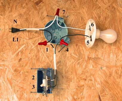 how to wire a light switch to an outlet diagram ... Single Pole Switch Wiring Methods Electrician101 Throughout, To Wire A Light From An Outlet How To Wire A Light Switch To An Outlet Diagram Practical ... Single Pole Switch Wiring Methods Electrician101 Throughout, To Wire A Light From An Outlet Photos