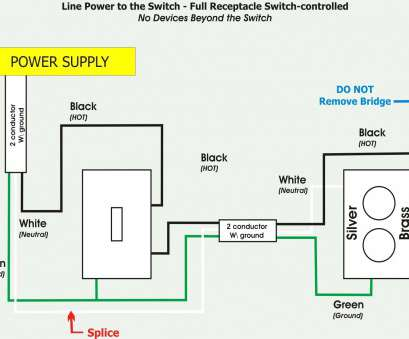 how to wire a light switch to outlet Switched Outlet Wiring Diagram Best Of, Light Switch, Receptacle 17 Perfect How To Wire A Light Switch To Outlet Collections
