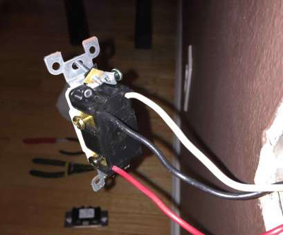 10 New How To Wire A Light Switch, White Black Collections