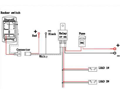 How To Wire A Light Switch With 5 Wires Professional Boat ...  Lights Wiring Diagram on