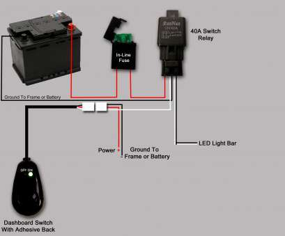 how to wire a light bar to a switch Epistar, Light, Wiring Diagram Refrence With How To Wire A Light, To A Switch Most Epistar, Light, Wiring Diagram Refrence With Photos