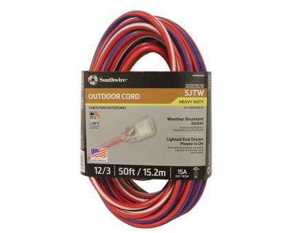 how to wire a light to extension cord Southwire 50, 12/3 SJTW, Outdoor Heavy-Duty Extension Cord with Power Light Plug How To Wire A Light To Extension Cord Nice Southwire 50, 12/3 SJTW, Outdoor Heavy-Duty Extension Cord With Power Light Plug Collections