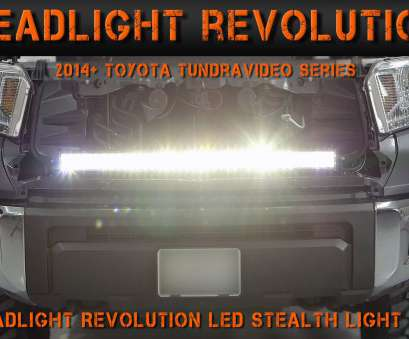 how to wire a light bar to headlights 2014-2017 Toyota Tundra Stealth Light, Install, Tundra Video Series (1), Headlight Revolution, YouTube How To Wire A Light, To Headlights Practical 2014-2017 Toyota Tundra Stealth Light, Install, Tundra Video Series (1), Headlight Revolution, YouTube Ideas