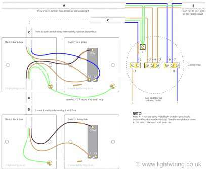 how to wire a light with 3 core How To Wire Lights In Parallel With Switch Diagram Wiring Series Vs New 17 New How To Wire A Light With 3 Core Photos