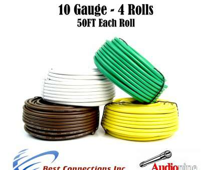 how to wire a light with 4 cables 4, Trailer Wires Light Cable, Harness 50 FT Each Roll 10 Gauge 4 Colors How To Wire A Light With 4 Cables Professional 4, Trailer Wires Light Cable, Harness 50 FT Each Roll 10 Gauge 4 Colors Solutions