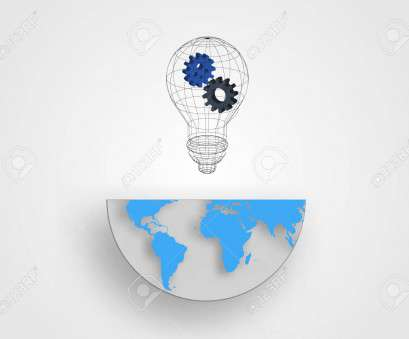 how to wire a light with earth Vector, Wire frame light bulb containing gears on half size of, earth, represent concept of innovation, idea. Technology background vector How To Wire A Light With Earth Most Vector, Wire Frame Light Bulb Containing Gears On Half Size Of, Earth, Represent Concept Of Innovation, Idea. Technology Background Vector Galleries