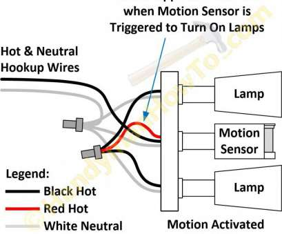 how to wire a light with motion detector Wiring Diagram, Security Light Motion Sensor At, volovets.info How To Wire A Light With Motion Detector Professional Wiring Diagram, Security Light Motion Sensor At, Volovets.Info Photos