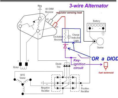 how to wire a light with one wire Ford, Wire Alternator Diagram 4 Upgrades Junkyard Builder, Rod Exceptional Wiring How To Wire A Light With, Wire Simple Ford, Wire Alternator Diagram 4 Upgrades Junkyard Builder, Rod Exceptional Wiring Collections