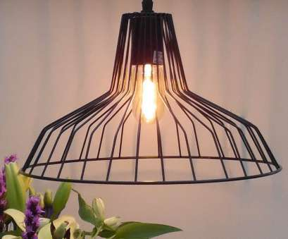 how to wire a metal light fitting Round retro black wire hanging light fitting with black metal ceiling rose. Takes, E27, bulb 11 Professional How To Wire A Metal Light Fitting Ideas