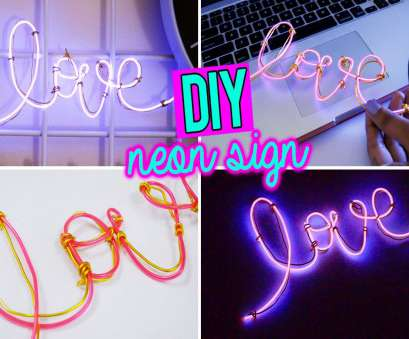 how to wire a neon light DIY: SUPER EASY NEON SIGN WORD WITH EL WIRE!! How To Wire A Neon Light Fantastic DIY: SUPER EASY NEON SIGN WORD WITH EL WIRE!! Images