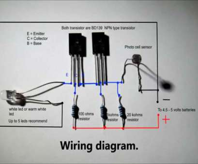 how to wire a night light Automatic nightlight with full wiring diagram 12 Brilliant How To Wire A Night Light Images