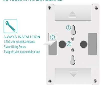 how to wire a night light switch LED Night Light Kasonic, Lumen Cordless, LED Light Switch Batteries Included (4 Pack), Walmart.com How To Wire A Night Light Switch Creative LED Night Light Kasonic, Lumen Cordless, LED Light Switch Batteries Included (4 Pack), Walmart.Com Images