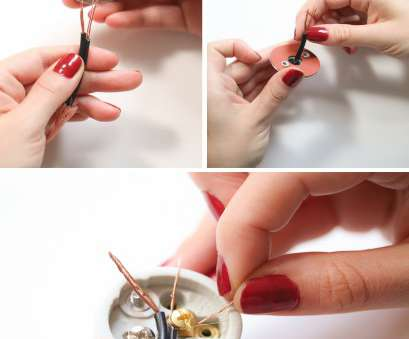 how to wire a pendant light socket For, Makers:, to Wire a Pendant Lamp How To Wire A Pendant Light Socket Brilliant For, Makers:, To Wire A Pendant Lamp Ideas