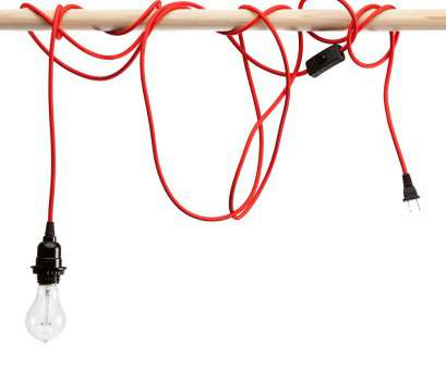 how to wire a pendant light socket Red nylon braided cloth covered light cord How To Wire A Pendant Light Socket Top Red Nylon Braided Cloth Covered Light Cord Ideas