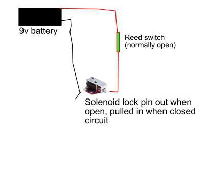 how to wire a reed switch power supply -, is this reed switch / solenoid circuit, working?, Electrical Engineering Stack Exchange How To Wire A Reed Switch Most Power Supply -, Is This Reed Switch / Solenoid Circuit, Working?, Electrical Engineering Stack Exchange Ideas