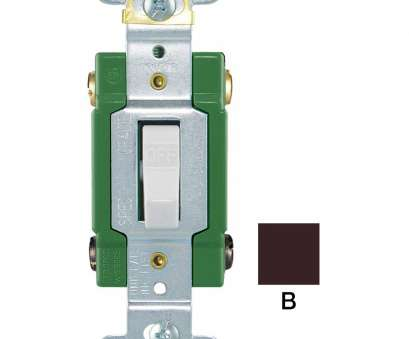 how to wire a regular light switch Shop Eaton -Switch Double Pole Brown Light Switch at Lowes.com How To Wire A Regular Light Switch Top Shop Eaton -Switch Double Pole Brown Light Switch At Lowes.Com Ideas