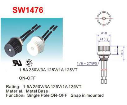 how to wire a rotary switch Black Single Pole Rotary Switch with Non-Removable Knob, 6in. Wire Leads How To Wire A Rotary Switch Popular Black Single Pole Rotary Switch With Non-Removable Knob, 6In. Wire Leads Collections