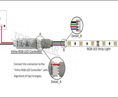 how to wire a strip light diagram ... Controller connection installation lightbox moreview · instruction How To Wire A Strip Light Diagram Nice ... Controller Connection Installation Lightbox Moreview · Instruction Photos