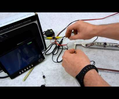 How To Wire A Switch Video Creative How To Wire Your Rear View Camera With An Override Switch Pictures
