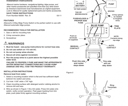 how to wire a three way bilge switch Attwood 7615A User Manual, 1 page, Also for: 7615, 69260, Bilge Pump Switches How To Wire A Three, Bilge Switch Popular Attwood 7615A User Manual, 1 Page, Also For: 7615, 69260, Bilge Pump Switches Pictures