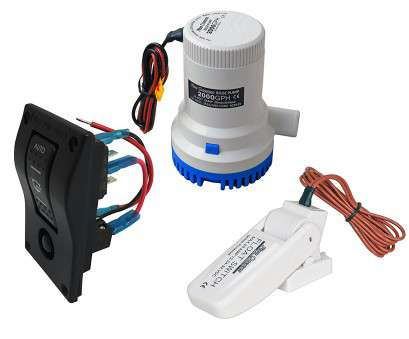 how to wire a three way bilge switch Get Quotations · Bilge Pump Combo Marine, Electric Bilge Pump, 2000GPH, Bilge Pump Switch Panel How To Wire A Three, Bilge Switch Cleaver Get Quotations · Bilge Pump Combo Marine, Electric Bilge Pump, 2000GPH, Bilge Pump Switch Panel Pictures