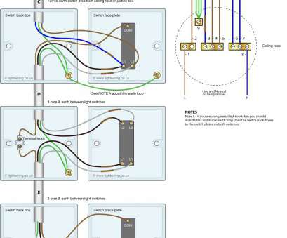 how to wire a three way switch to a single light Three, light switching wiring diagram (new cable colours) 16 Nice How To Wire A Three, Switch To A Single Light Solutions