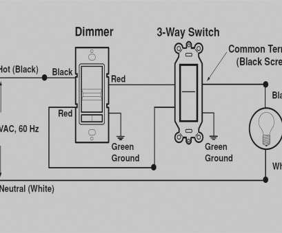 How To Wire A Three, Switch To A Single Light Perfect ... Collection Of Single Pole Dimmer Switch Wiring Diagram Leviton Light Decora Galleries