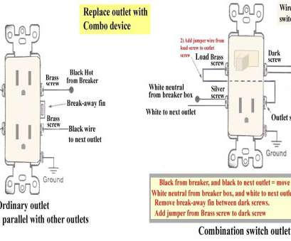 How To Wire A Three-Way Switch Receptacle Nice Wire 3-Way Switch To  Way Receptacle Wiring Diagram on