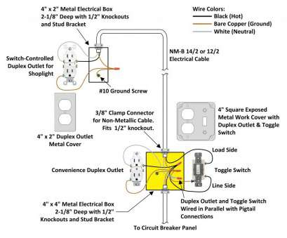 how to wire a three-way switch receptacle Wire 3-way Switch to Outlet, Wiring Diagram, 3, toggle Switch Valid Switch Plug Wiring How To Wire A Three-Way Switch Receptacle Nice Wire 3-Way Switch To Outlet, Wiring Diagram, 3, Toggle Switch Valid Switch Plug Wiring Pictures