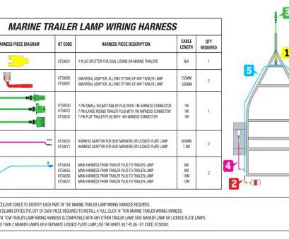 How To Wire A Trailer Lights Color Code Best Box Trailer Wiring Diagram Lights Ford Turn Signal Good Instruction At Pictures