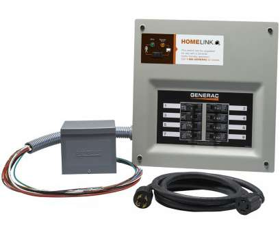 how to wire a transfer switch for a portable generator Generac Homelink 11000-Watt Generator Transfer Switch Kit How To Wire A Transfer Switch, A Portable Generator Most Generac Homelink 11000-Watt Generator Transfer Switch Kit Pictures