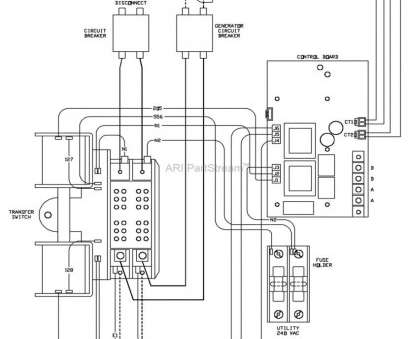 16 Professional How To Wire A Transfer Switch, A Portable Generator on generator control panel wiring diagram, manual generator circuit diagram, manual transfer switch electrical panel diagram,