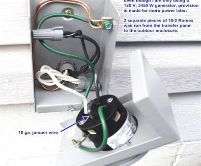 how to wire a transfer switch for a portable generator portable  generator transfer switch wiring diagram