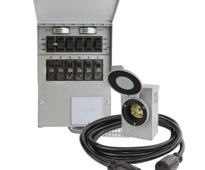 how to wire a transfer switches for home generators Reliance Controls 30, 250-Volt 7500-Watt Non-Fuse 6-Circuit Transfer Switch Kit How To Wire A Transfer Switches, Home Generators Perfect Reliance Controls 30, 250-Volt 7500-Watt Non-Fuse 6-Circuit Transfer Switch Kit Ideas