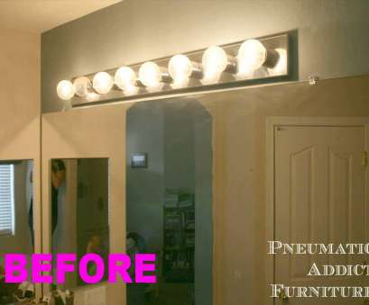 How To Wire A Vanity Light In, Bathroom Simple ... Fabulous Unique Bathroom Vanity Lights With Bathroom Vanity Light Fixtures Menards Youtube Images