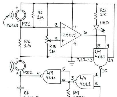 how to wire a vibration switch In operation, R3 is adjusted until, output of, op-amp switches from, to high. This switches, the tone generator formed by a 4011 quad NAND gate How To Wire A Vibration Switch Practical In Operation, R3 Is Adjusted Until, Output Of, Op-Amp Switches From, To High. This Switches, The Tone Generator Formed By A 4011 Quad NAND Gate Solutions