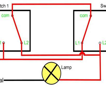 how to wire a two way switch for a light Staircase Wiring Diagram Using, Way Switch Refrence Wiring Diagram, Two, Switch E Light Kuwaitigenius 17 Top How To Wire A, Way Switch, A Light Pictures